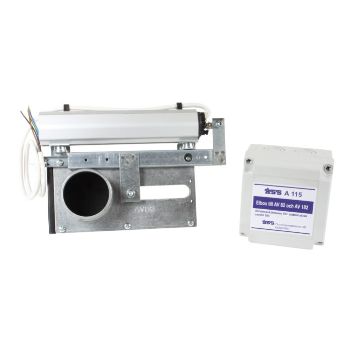 Automatisk el-ventil